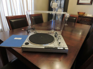 Sony PS-LX22 Direct Drive Turntable w/ New CN5625AL
