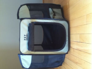 Pet gear travel cage