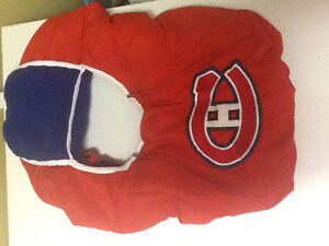 Canadiens car seat cover