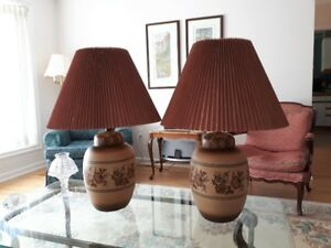 Ginger Jar Lamps  - Retro 1970's
