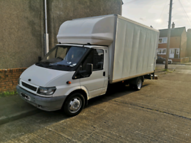 2003 ford transit Luton/box van with tailgate