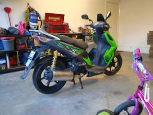 2009 Kymco super 8 125cc scooter