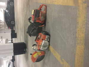 Two concrete saws for sale