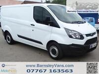 2014 14 FORD TRANSIT CUSTOM 290 LWB LONG WHEEL BASE 100BHP FULL HISTORY