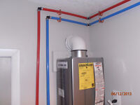 HOT WATER TANK UPGRADE GO TANKLESS FROM $45 A MONTH.