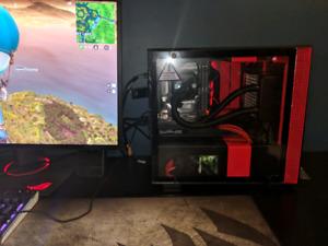 Custom Built Gaming Pc / Ordinateur