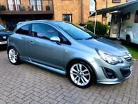2012 Vauxhall Corsa 1.4i 16V [100] SRi 3dr [AC] HATCHBACK Petrol Manual