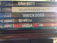 PS4  games trade or sell