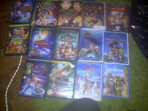 Disney DVD's - Mint condition - some new in wrap still