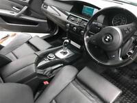 2007 57 reg BMW 525i M Sport + Grey + Facelift + SAT NAV + LEATHER + AUTO