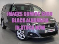 2016 SEAT Alhambra 2.0 TDI CR SE [150] 5dr DSG Diesel black Automatic