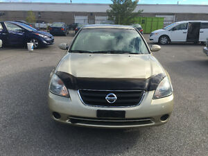 2003 Nissan Altima. CERTIFIED, E TESTED, WARRANTY, NO ACCIDENT