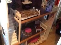 Large doll house