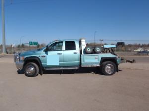 2008 dodge ram 4500 6.7L cummins 4x4 quad cab tow truck