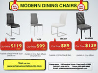 DINING CHAIRS ON SALE IN TORONTO MODERN STYLES CHEAPEST PRICE NU
