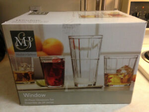 24pc Glassware Set