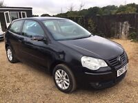 VW POLO 1.4TDI 3DR 2008 IDEAL FIRST CAR CHEAP INSURANCE AND ONLY £30 ROAD TAX
