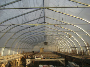 30' x 102' Harnois Greenhouse
