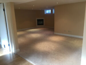 HUGE, LIGHT, GORGEOUS PET FRIENDLY BASEMENT - $1450 INCLUSIVE!