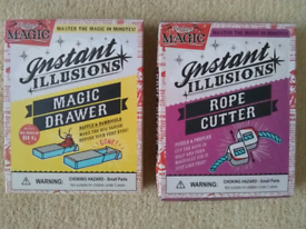 Ridley's Magic 'Instant illusions'