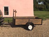 Refurbished camping trailer