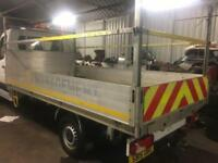 DROPSIDE 14FT ALLOY FLAT BED BODY REMOVED FROM SPRINTER/CRAFTER/TRANSIT