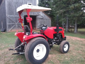 24 hp tractor