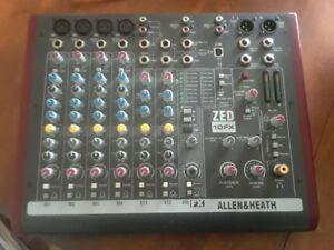 ALLEN AND HEATH ZED10FX MIXER
