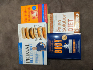 Diet and Wellness books mint condition