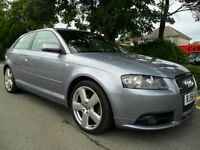 Audi A3 2.0 TDI 2006 Quattro S LINE COMPLETE WITH M.O.T HPI CLEAR INC WARRANTY