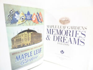 MAPLE LEAF GARDENS 1931-1999 COFFEE TABLE BOOK - MINT COND.