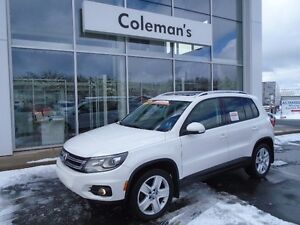 2014 Volkswagen TIGUAN Comfortline - All Wheel Drive - Sunroof