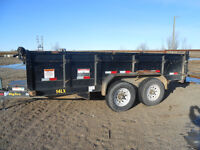 Dump Trailer for Rent or You Load and I Haul