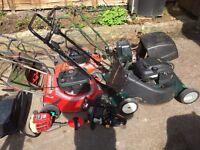 Job lot lawn mowers spairs or repair