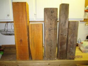 Five BEAM cut offs - perfect for lamp bases