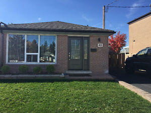 Close to York U, 3 bed semi on oversized lot
