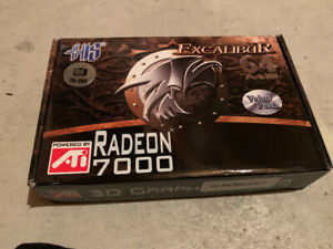 His Excalibur ATI Radeon 7000 64MB DDR TV-Out Graphics Card