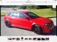 Audi A3 3.2 v6 DSG Quattro (swap) for enduro