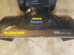 Snow Blower For Sale 4 Years Old