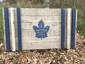 Custom Handcrafted Rustic Sports Flags, 2D & More