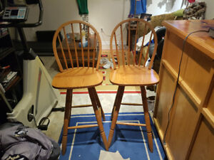 BAR STOOLS IN PERFECT CONDITION