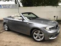 BMW 2012 120d Exclusive Edition 2.0 Diesel Manual Convertible in Grey/Silver