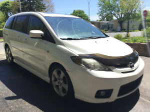 Mazda5 2007 GT Automatic, 6 passengers, Sunroof