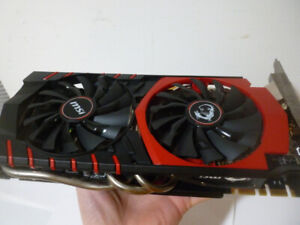 MSI GTX 980 4GB OC Twin Frozr-V GPU - Used