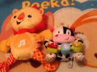 Baby / toddler toys like new 8 different toys