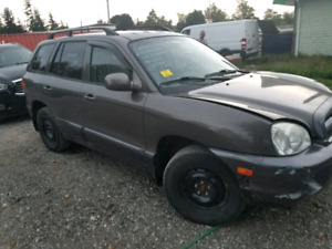 2005 HYUNDAI SANTA FE - V6 ALL WHEEL DRIVE