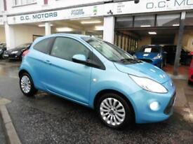 image for 2014 64 Ford Ka 1.2 Zetec 37000mls Bluetooth 2-Owners Scuba Blue £30 tax