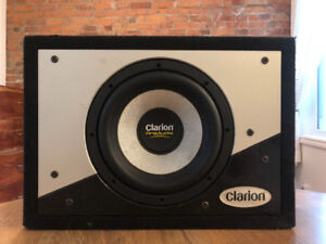 "Clarion Pro Audio Subwoofer - 10"" in Ported Box"