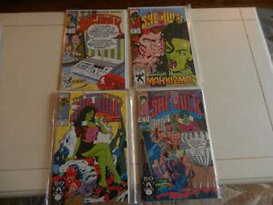 The Sensational She-Hulk Comic Books Near Mint Lot of 7 1991