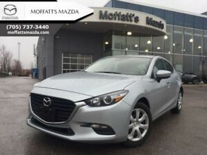 2018 Mazda Mazda3 GX  -  Power Windows - $154.15 B/W